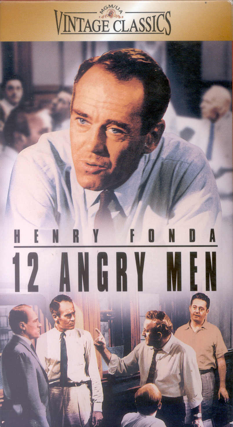 the essay of twelve angry men